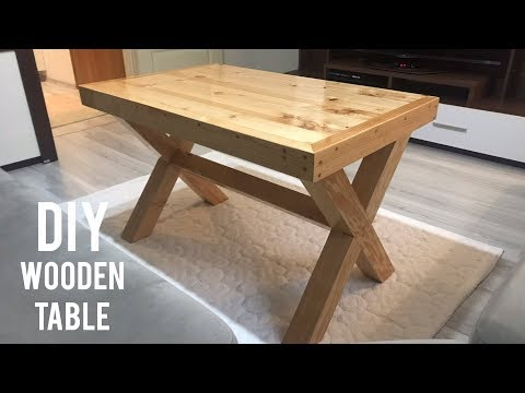 Making a wooden table / How to make a wooden table