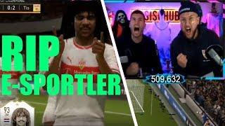 Tisi Schubech ZERSTÖRT E-SPORTLER ! FIFA 19 Tisi Schubech Stream Highlights