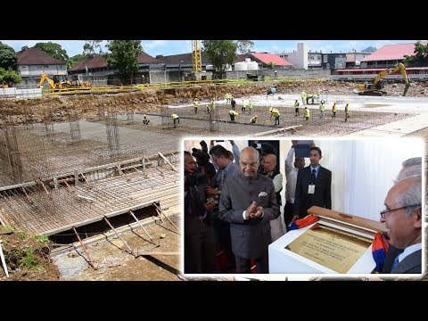 Le nouvel hôpital ENT financé entièrement par l'Inde à hauteur de Rs 885 m