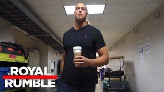 Big Cass has his sights set on headlining WrestleMania 33: Royal Rumble Exclusive, Jan. 29, 2017