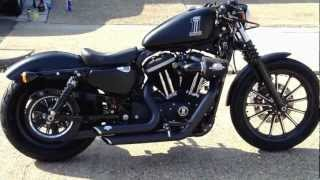 Harley Davidson Iron 883 Sportster walk around