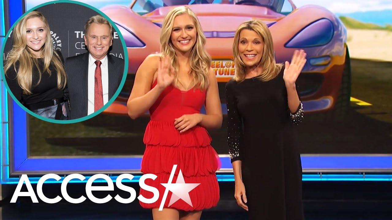 Pat Sajak's Daughter Is All Grown Up And Helping Vanna White As 'Wheel of Fortune' Letter Turner
