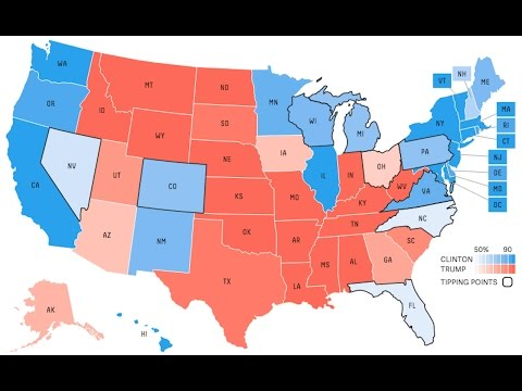 Election Eve Electoral Map Breakdown