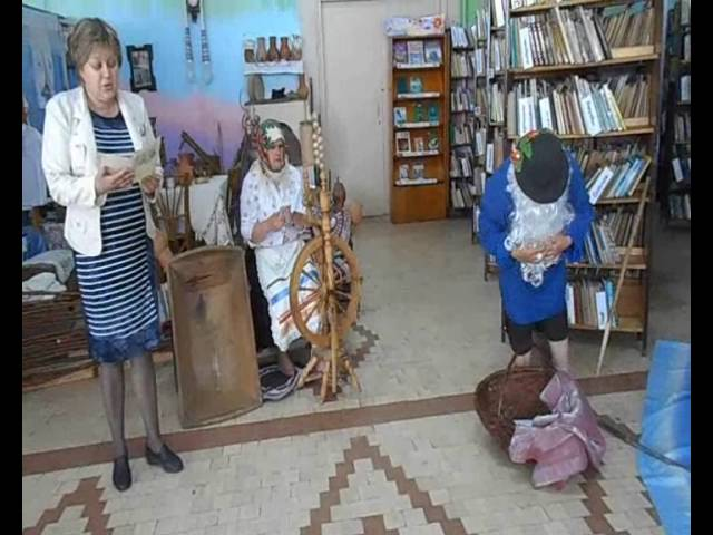Изображение предпросмотра прочтения – ТатьянаКостина читает произведение «Сказка о рыбаке и рыбке» А.С.Пушкина