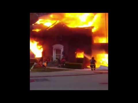 House fire in Hermitage, TN (Nov. 2, 2017)