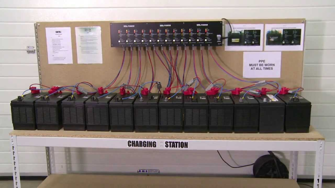 Srl Traffic Systems Battery Charging Station Youtube