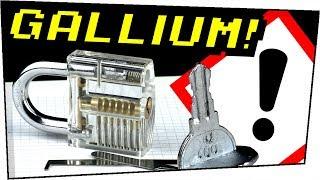 Macht euch KEINEN Schlüssel aus GALLIUM! EXPERIMENT - Gefährliche Experimente #95