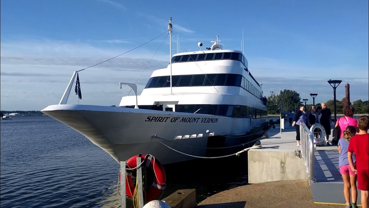 Spirit Of Mount Vernon Boat Cruise From Washington, DC To