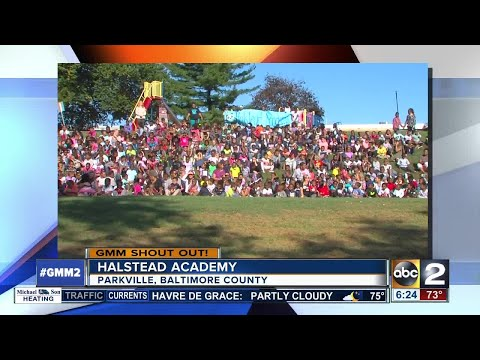 A BIG good morning from Halstead Academy