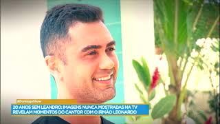 Domingo Show faz homenagem ao sertanejo Leandro