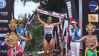 Video How The Race Was Won: IRONMAN 70.3 THAILAND 2016 - WOMEN download MP3, 3GP, MP4, WEBM, AVI, FLV Juli 2018