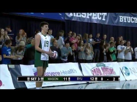 NCAA Volleyball. Mason Men