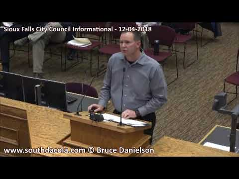 2018-12-04 Sioux Falls City Council Informational