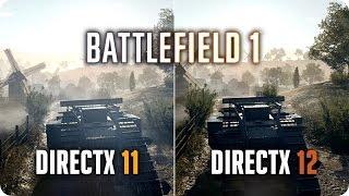 battlefield 1 проблема с  directx 12 в главном меню