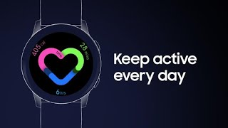 Galaxy Watch Active: How to set and track your Daily Activity