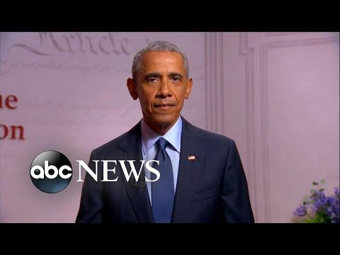 Barack Obama Speaks At The 2020 DNC