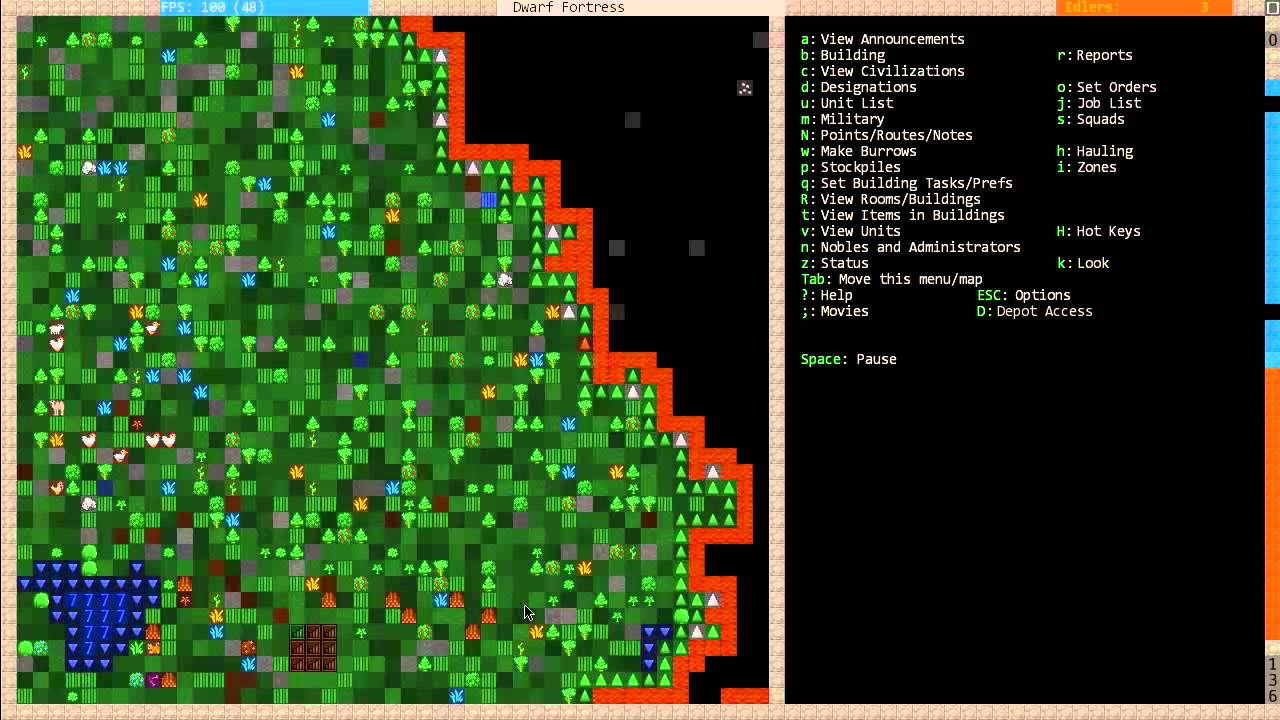 Dwarf Fortress For Dummies 2012 Part 2 The First Steps