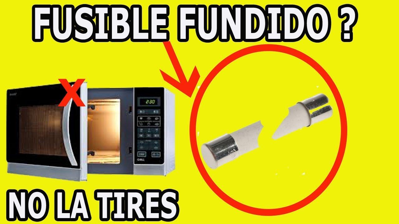 Principal Causa De Fusible Fundido En Un Horno Microondas Youtube