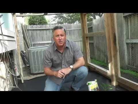 Make gardening easier use weed barrier cloth youtube - Weeding garden make work easier ...