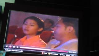 Holland V funny scene in cinema ,yao wenlong, jeanette aw , and shaun chen