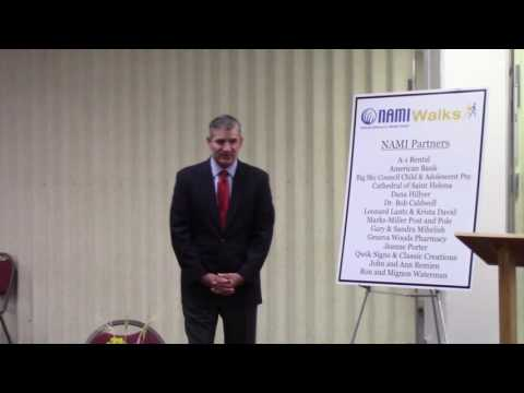 Scott Hannon Speech at NAMIWalk Kick Off Luncheon