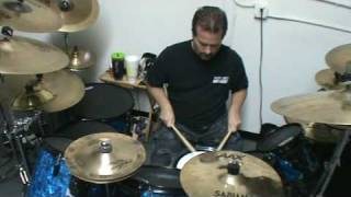 Drum Solo Tuning the Kit
