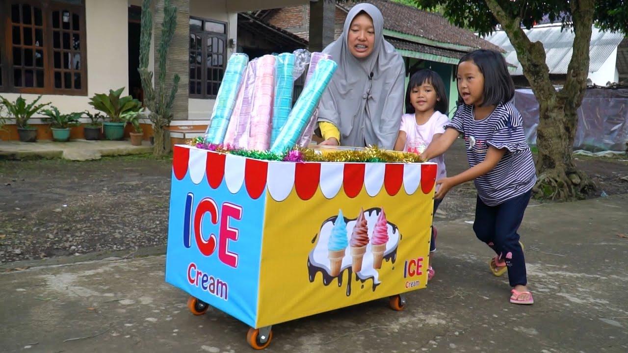Download Keysha Dan Afsheena Jadi Penjual Ice Cream
