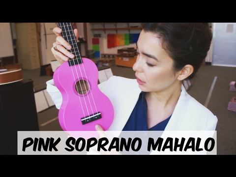 Pink Mahalo Soprano Ukulele - Review By A Music Teacher