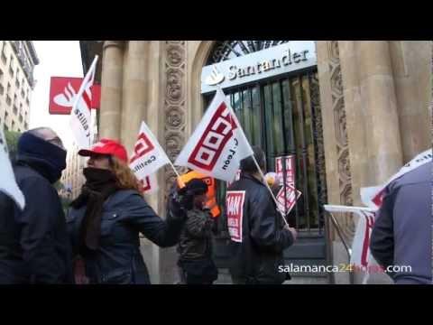 Huelga General 14N: tiendas centro Salamanca