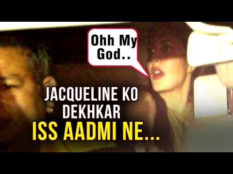 ANGRY Man SHOUTS At Jacqueline Fernandez Your Not Indian But Srilankan