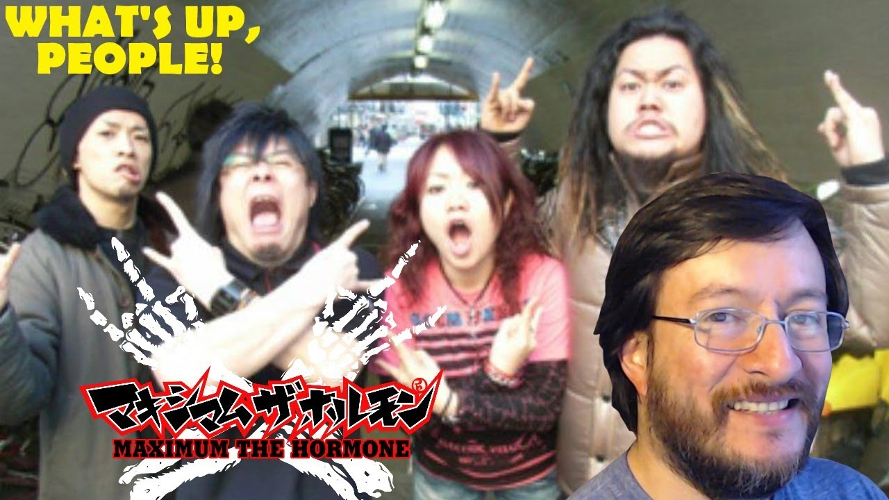 Maximum The Hormone   What's Up, People!   REACCIÓN (reaction)