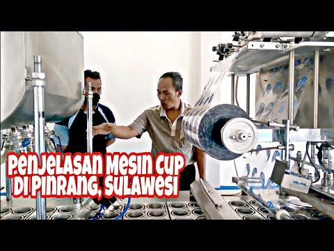 Pengoperasian Mesin Cup 4x2 line Pneumatik , Procedur Kerja dan Pemecahan Masalah