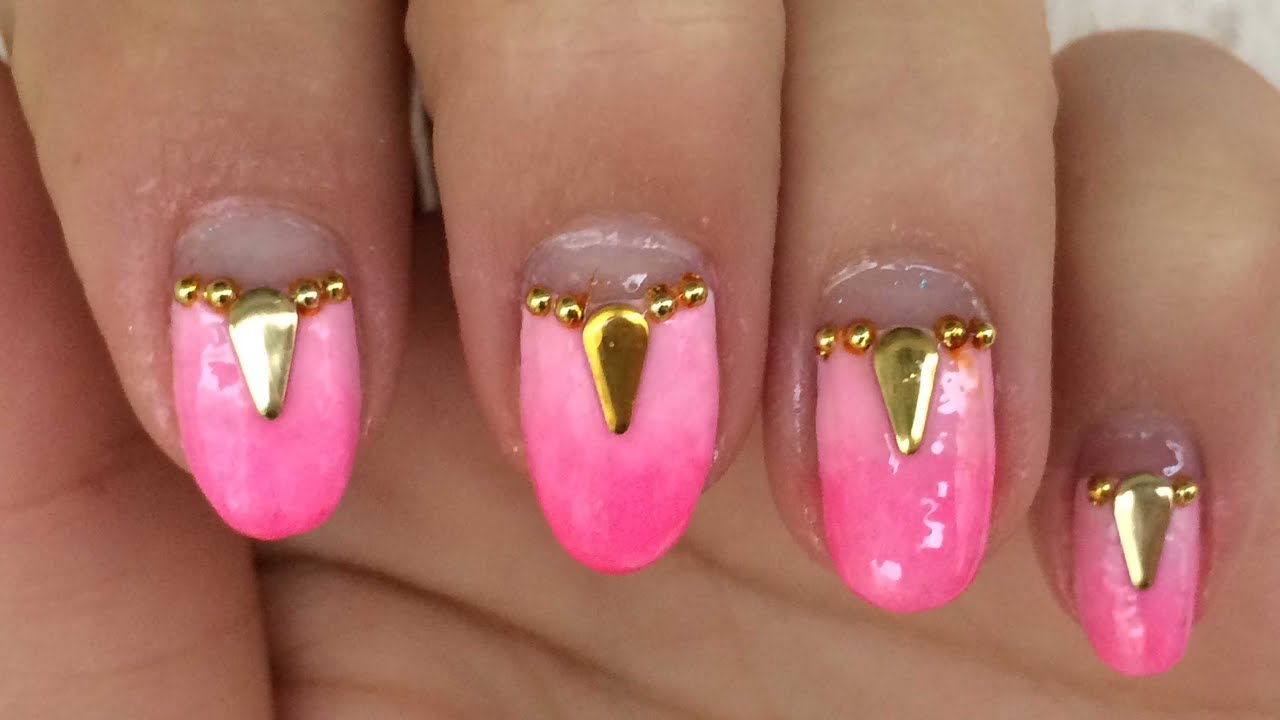 Testing The Fluorescent Nail Polishes From banggood com - YouTube