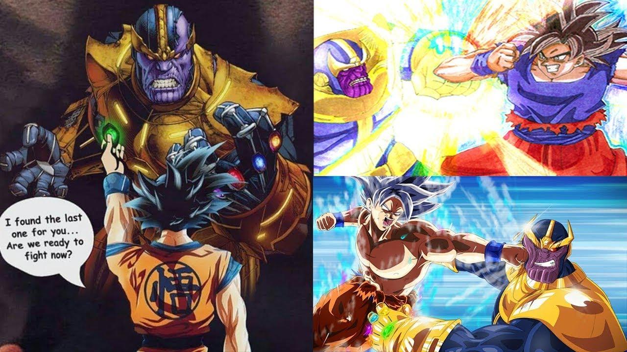 Goku Vs Thanos: Mastered Ultra Instinct Goku VS Thanos