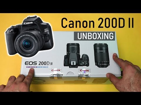 Canon EOS 200D II Unboxing and Overview: 4K Video, Eye AF (Hindi)