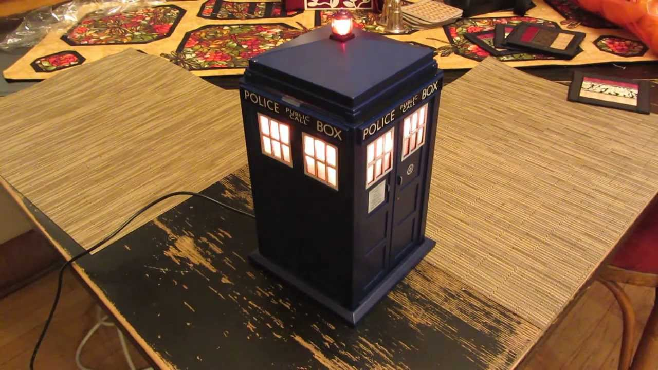 Doctor Who Tardis Christmas Tree Topper