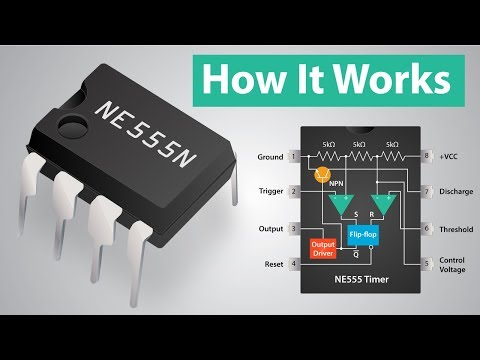 How a 555 Timer IC Works