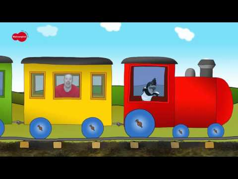 The Toy Train Song | English For Children | English For Kids