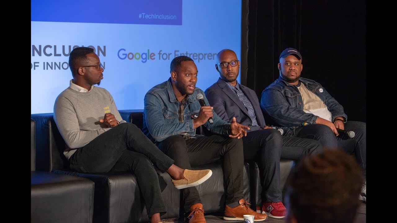 Black Men in Tech: What's Missing From The Conversation? Panel | Tech Inclusion SF 2018