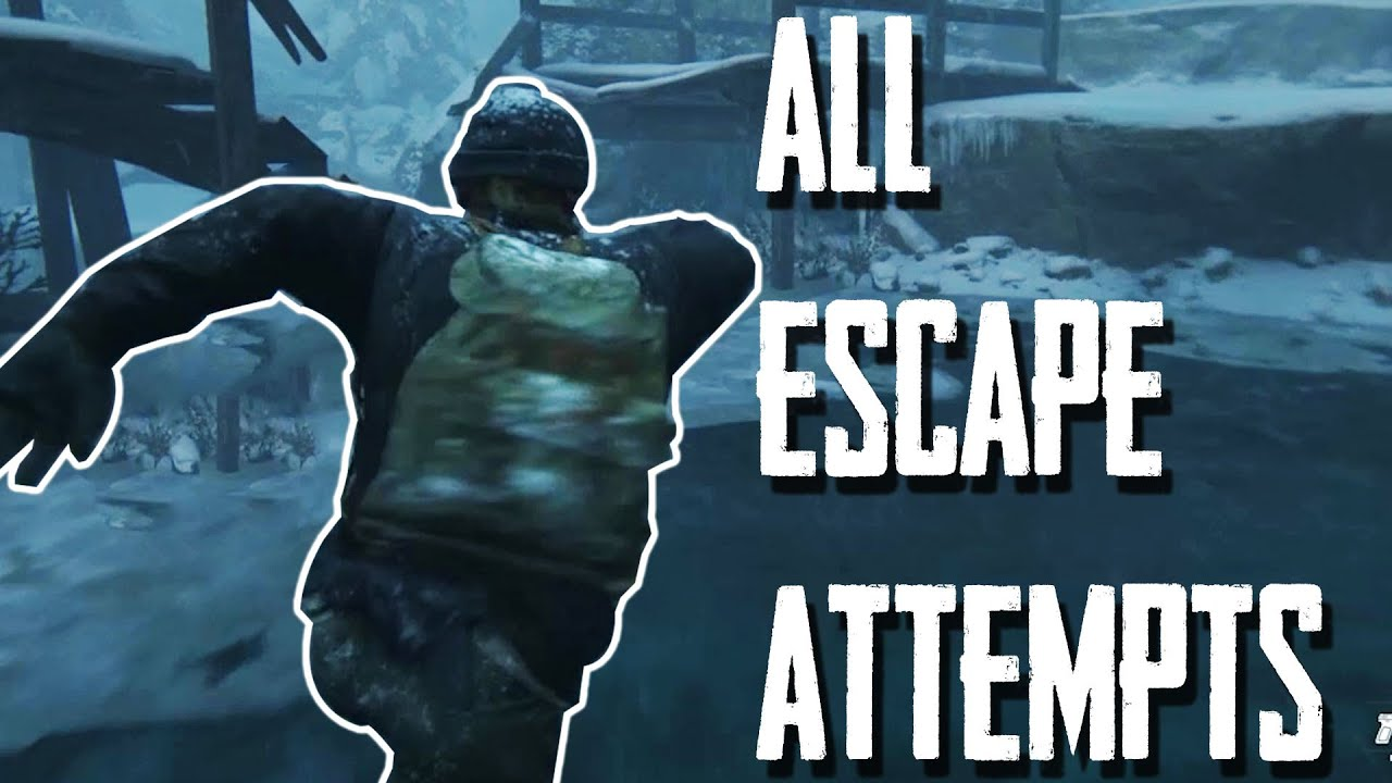 All Escape Attempts - The Last of Us Part II