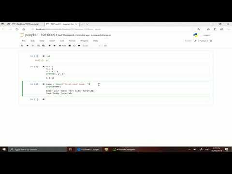 3 Python Tutorial - Using Jupyter Notebook thumbnail