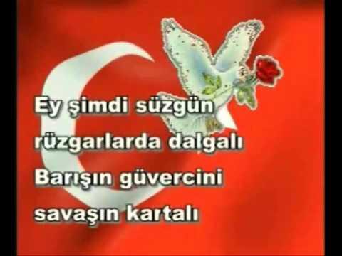 Arif Nihat ASYA - Bayrak Şiiri fon müzikli