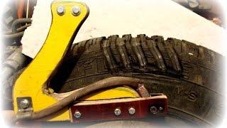 как сделать машинку для нарезки протектора шин