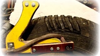 Машинка для нарезки протектора своими руками. Machine for cutting tire tread.