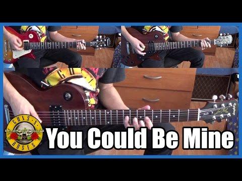 Guns N' Roses You Could Be Mine Full Cover | With Lyrics (sub Español)