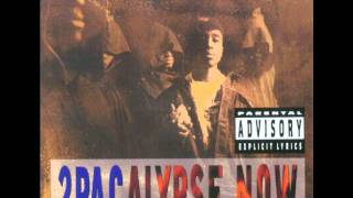 2Pac - If My Homie Calls Real Instrumental (No vocals)