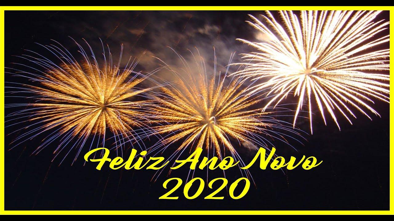 Feliz Ano Novo 2020 Feliz 2020 Mensagem De Ano Novo