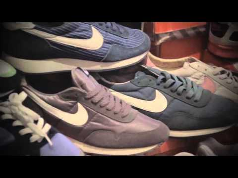 Exposition Nike Vintage by Sneaker Vintage @Bonjour Sneakers Marseille 25.10.15