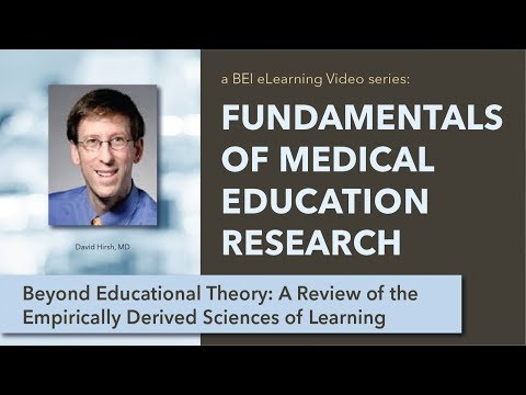 Beyond Educational Theory: A review of the empirically derived sciences of learning on YouTube