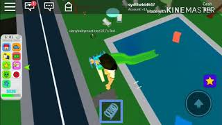 A little trick on roblox on cue in adopt kid
